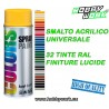 DUPLI VERNICE SPRAY 400ML SMALTO ACRILICO COLORS TINTE RAL