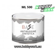 ANTIRUGGINE SINTETICA FONDO ANTICORROSIVO BASE ML500